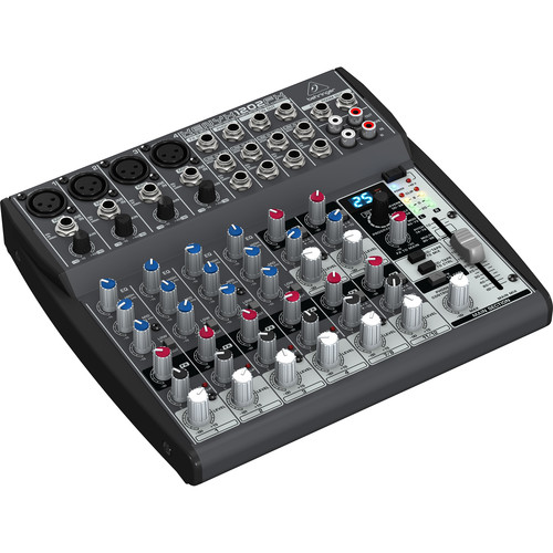 behringer xenyx 1202fx 12 channel audio mixer 1202fx b h photo. Black Bedroom Furniture Sets. Home Design Ideas