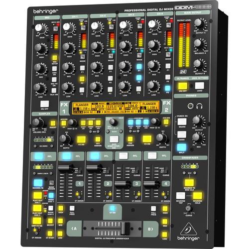 behringer ddm4000 4 channel digital dj mixer ddm4000 b h photo. Black Bedroom Furniture Sets. Home Design Ideas