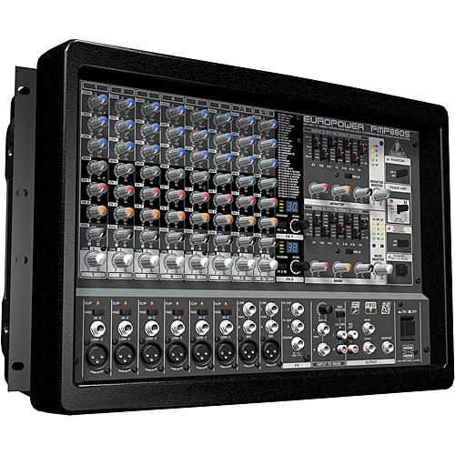 behringer pmp880s 10 channel audio mixer europower pmp880s b h. Black Bedroom Furniture Sets. Home Design Ideas