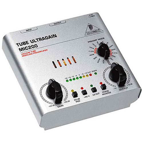 Behringer Tube Preamp : behringer mic200 tube ultragain preamp mic200 b h photo video ~ Hamham.info Haus und Dekorationen