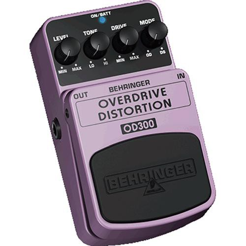 behringer od300 overdrive and distortion stompbox effect od300. Black Bedroom Furniture Sets. Home Design Ideas