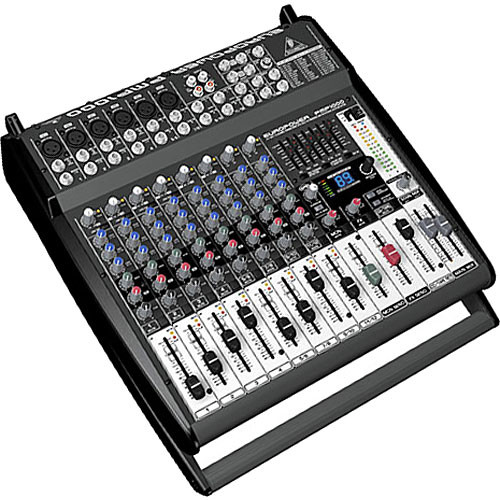behringer pmp1000 12 channel audio mixer pmp1000 b h photo. Black Bedroom Furniture Sets. Home Design Ideas
