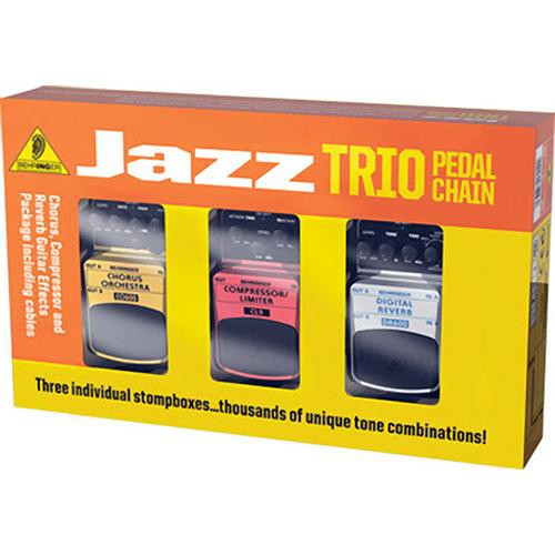 behringer tpk984 jazz trio pedal pack guitar effects tpk984. Black Bedroom Furniture Sets. Home Design Ideas