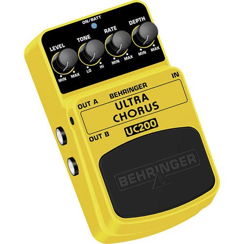 behringer uc200 ultra chorus pedal uc200 b h photo video. Black Bedroom Furniture Sets. Home Design Ideas
