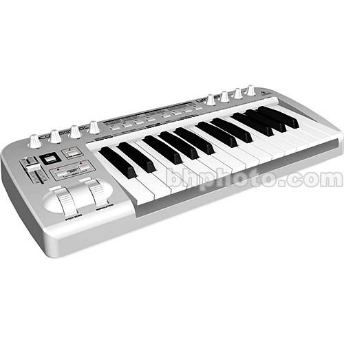 behringer umx25 midi controller keyboard umx25 b h photo video. Black Bedroom Furniture Sets. Home Design Ideas