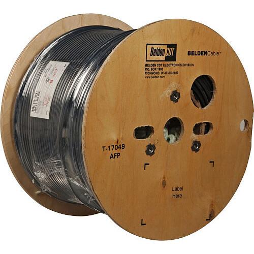 Belden 1694A RG6 Low Loss Serial Digital Coaxial 1694A-500-BLACK