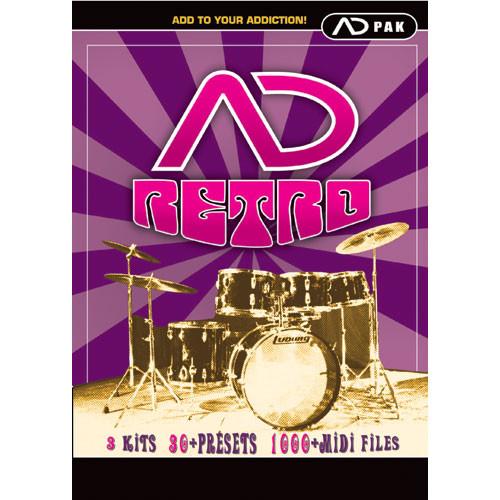 Big fish audio retro adpack percussion sample expansion for Big fish audio