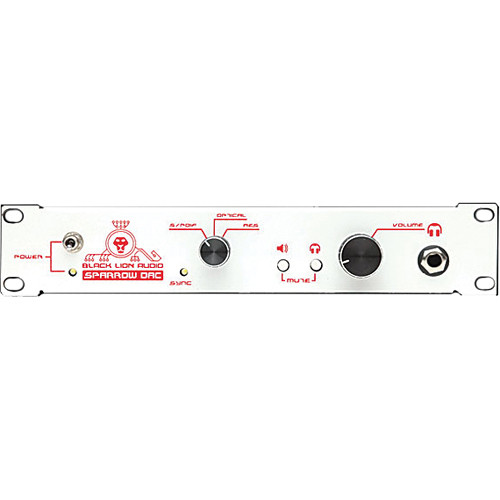 black lion audio white sparrow dac