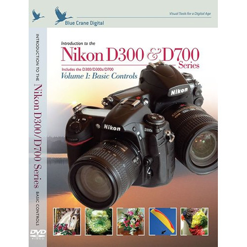 blue crane digital dvd nikon d300 d300s d700 digital slr bc128 rh bhphotovideo com Nikon D300 Body Nikon D300 Body