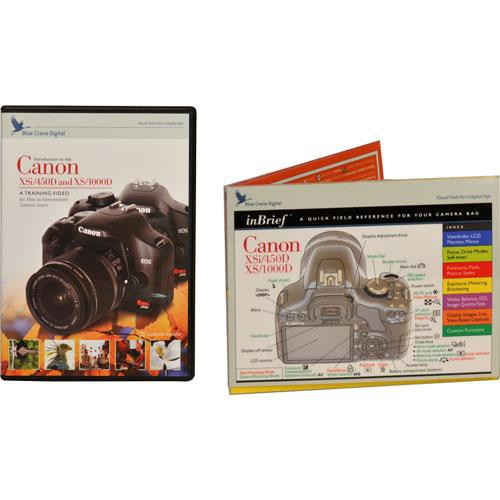 DVD and Guide: Combo Pack for the Canon EOS Rebel XSi Digital SLR Camera