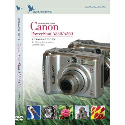 blue crane digital dvd introduction to the canon bc700 b h rh bhphotovideo com Canon PowerShot A560 Canon PowerShot A560