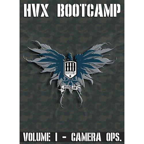 books dvd hvx boot camp volume i camera ops hvxdvd b h photo. Black Bedroom Furniture Sets. Home Design Ideas