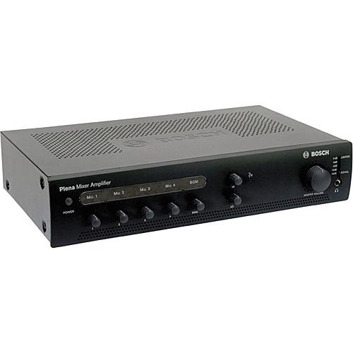 bosch ple 1me60 us plena mixer amplifier f 01u 213 775 b h photo rh bhphotovideo com bosch ple-2ma240 plena mixer amplifier manual Bosch vs KitchenAid Mixer