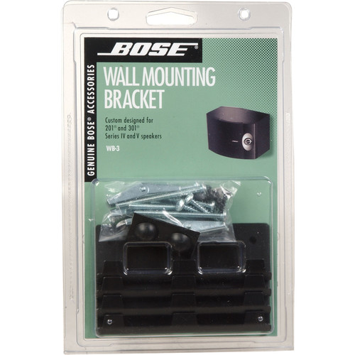 Bose Wb 3 Bookshelf Speaker Wall Brackets 18423 B Amp H Photo