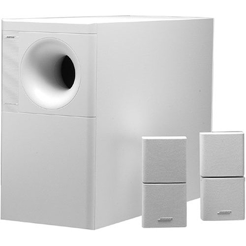 bose acoustimass 5 series iii speaker system white 21726 b h. Black Bedroom Furniture Sets. Home Design Ideas