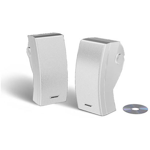 Bose 251 Outdoor Environmental Speakers White 24644 B Amp H