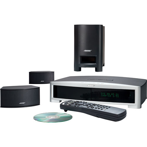 bose 3 2 1 gs series ii home theater system graphite 34124 b h. Black Bedroom Furniture Sets. Home Design Ideas