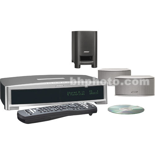 bose 3 2 1 gsx home theater system silver 36600 b h photo. Black Bedroom Furniture Sets. Home Design Ideas