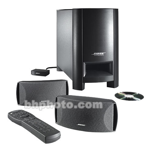 bose cinemate digital home theater speaker system 37487 b h. Black Bedroom Furniture Sets. Home Design Ideas