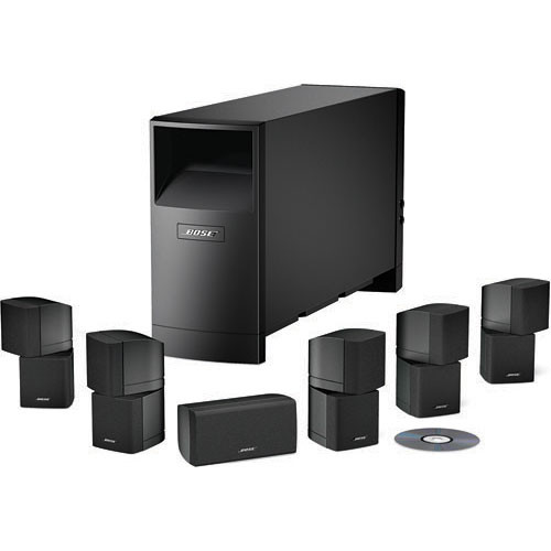 bose demo acoustimass 16 complete 7 piece home theater 40366 b h. Black Bedroom Furniture Sets. Home Design Ideas