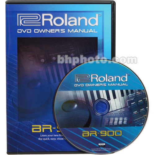 BOSS DVD Owners Manual ONLY For The Boss BR 900CD BR 900CDDVM