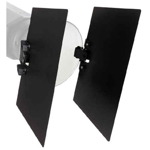 Bowens Clip On Two Leaf Barndoor Set Bw 1869 Bh Photo Video