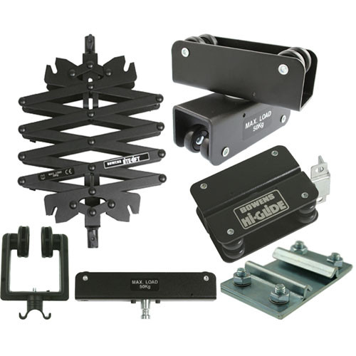 Studio Lighting Rail System: Bowens Hi-Glide Starter Kit Without Rails BW-2630/A B&H Photo