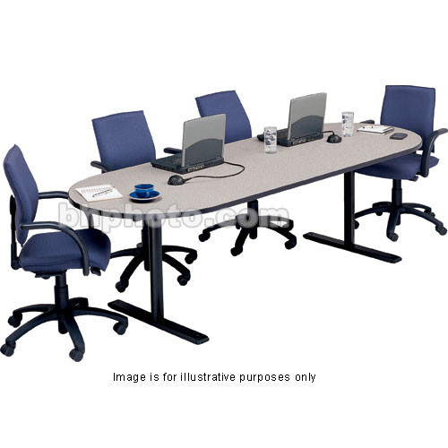 Bretford 120 x 36 x 29 race track conference rae3620 nb for 120 conference table