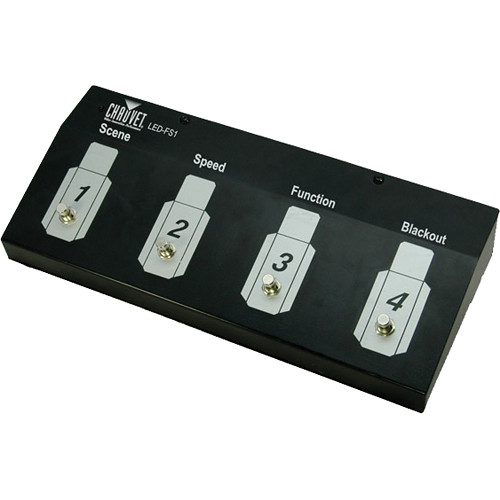 Chauvet Professional Colorstrip Foot Controller Led Fs1 B Amp H