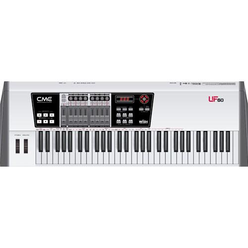 cme uf 60 keyboard controller uf60 b h photo video. Black Bedroom Furniture Sets. Home Design Ideas