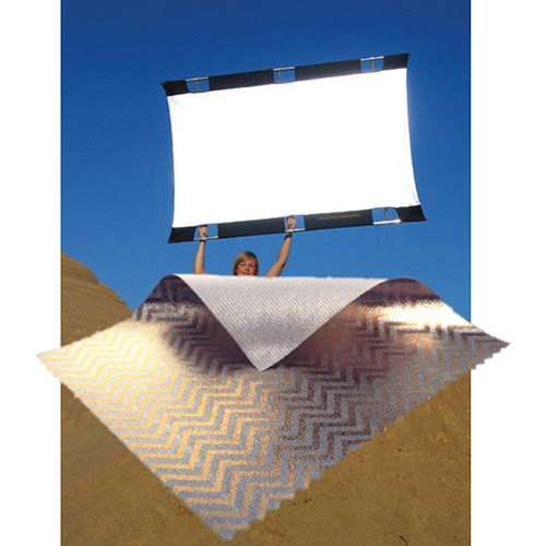 sunbounce sun bouncer pro reflector kit with zebra gold silver screen. Black Bedroom Furniture Sets. Home Design Ideas