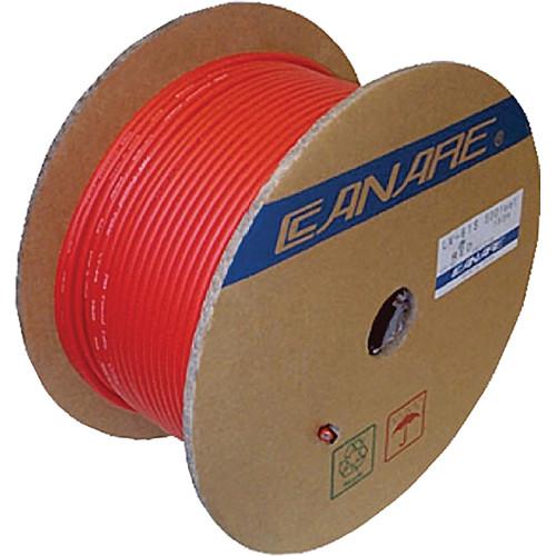 Canare L 4e6s Star Quad Microphone Cable L 4e6s 305m Red B Amp H