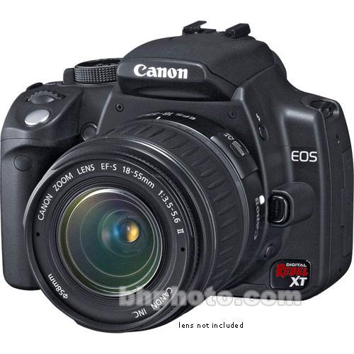 canon eos digital rebel xt a k a 350d digital camera 0209b001 rh bhphotovideo com canon eos digital rebel xti manual pdf canon eos digital rebel xt manual