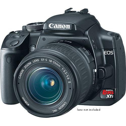 canon eos digital rebel xti digital camera body black 1236b002 rh bhphotovideo com Canon EOS Rebel T3 Canon D400 450 Manual