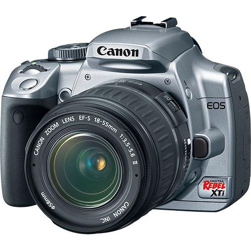 canon eos digital rebel xti digital camera kit silver 1239b001 rh bhphotovideo com Canon EOS Rebel XTi Troubleshooting Canon EOS Rebel XTi Troubleshooting