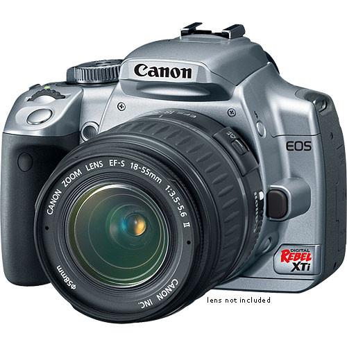 canon eos digital rebel xti digital camera body silver rh bhphotovideo com canon eos rebel xti manual mode canon rebel xt manual settings