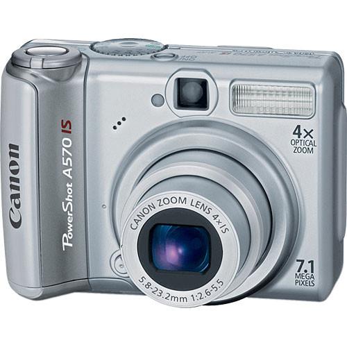 Canon Powershot A570 IS | Canon Powershot A570 IS 12/31