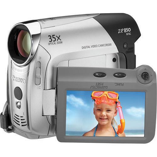 canon zr850 mini dv camcorder 1878b001 b h photo video rh bhphotovideo com Canon EOS Rebel User Manual Canon Owner's Manual