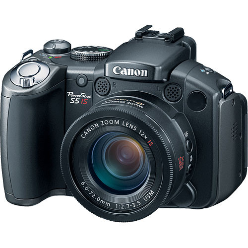 canon powershot s5 is digital camera 2077b001 b h photo video rh bhphotovideo com Canon PowerShot A2200 Digital Camera Canon PowerShot Digital Camera