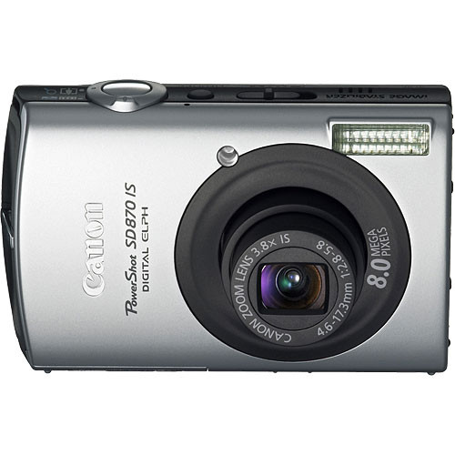 canon powershot sd870 is digital elph digital camera 2086b001 rh bhphotovideo com canon sd870 manual