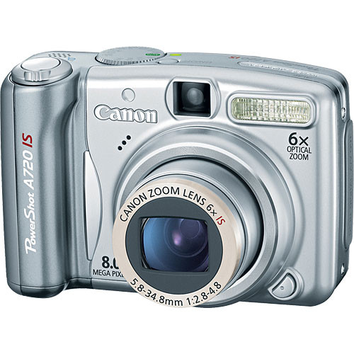 canon powershot a720 is digital camera 2092b001 b h photo video rh bhphotovideo com Canon PowerShot A590 canon powershot a720is user manual