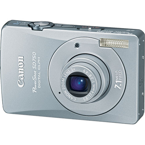canon powershot sd750 digital elph digital camera 2239b001 b h rh bhphotovideo com Canon PowerShot User Manual Canon PowerShot SX130 Is Manual