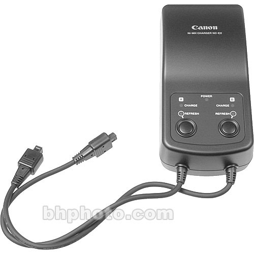 Canon Nc E2 Battery Charger 2419a005 B Amp H Photo Video