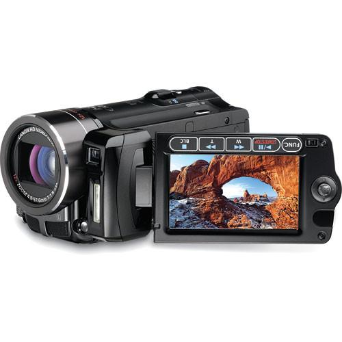canon vixia hf 10 avchd 16gb dual flash memory sdhc 2573b001 b h rh bhphotovideo com Canon Camcorder Comparison Chart Canon VIXIA HF S30 Port