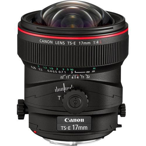 Canon TS-E 17mm f 4L Tilt-Shift Lens 3553B002 B H Photo Video 5b320925e40