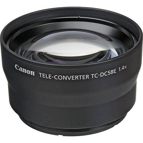 canon tc dc58e tele converter for powershot g15 6926b001. Black Bedroom Furniture Sets. Home Design Ideas