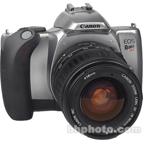 canon eos rebel k2 35mm slr kit with 28 90mm ef iii lens rh bhphotovideo com Canon EOS 6D Canon EOS 6D