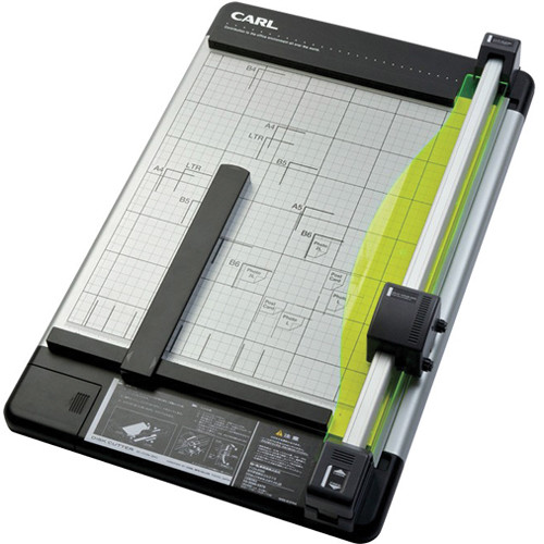 carl paper cutter Shop for paper trimmer you will with the guillotine paper trimmer this paper cutter includes a grid pattern so mat for carl brands trimmers.