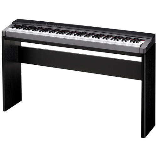 casio cs 67 privia keyboard stand black cs67bk b h photo video. Black Bedroom Furniture Sets. Home Design Ideas