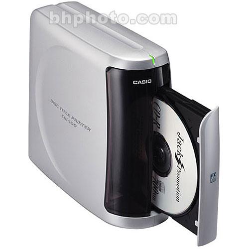 Casio Cw 100 Disc Title Printer Usb Thermal Cd Dvd Cw